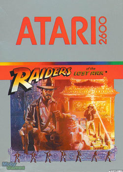 Raiders of the Lost Ark Cover Art