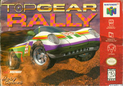 Top Gear Rally Cover Art