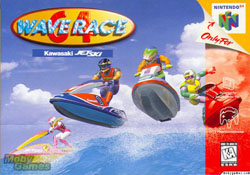 Wave Race 64 Cover Art