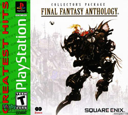 Final Fantasy Anthology Cover Art