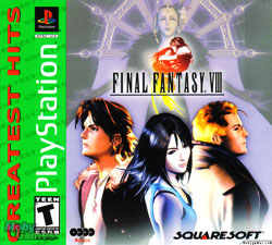 Final Fantasy VIII Cover Art