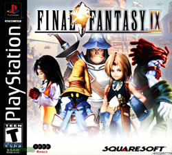 Final Fantasy IX Cover Art